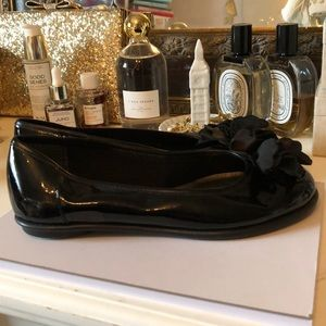 Clark's patent leather flats!